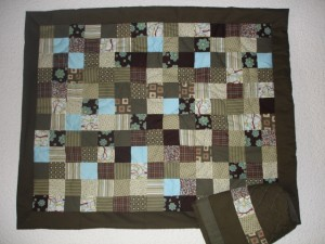 patchwork kaki (photo)