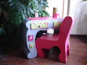 bureau petite fille (photo)